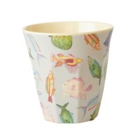 Fish Print Melamine Cup By Rice DK