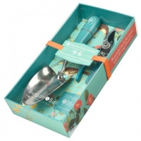 Burgon and Ball RHS Flora and Fauna Trowel and Secateurs Gift Set