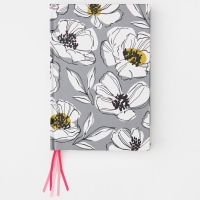 Floral Multi Ribbon Notebook By Caroline Gardner