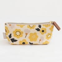 Cotton Floral Print Handbag Makeup Purse By Caroline Gardner