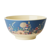 Flower Collage Print Melamine Bowl By Rice DK