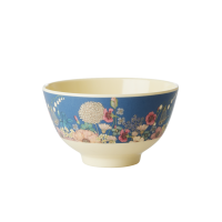 Flower Collage Print Small Melamine Bowl By Rice DK
