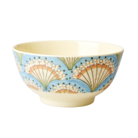 Flower Fan Print Melamine Bowl By Rice DK