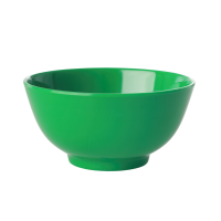 Forest Green Melamine Bowl Let's Summer Rice DK