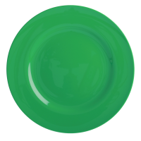 Forest Green Melamine Dinner Plate Rice DK