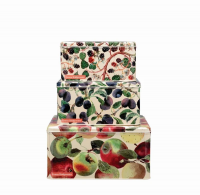 Fruit Print Set of 3 Cake Tins By Emma Bridgewater