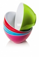 Colourful Melamine Salad Bowl by CKS Zeal