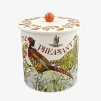 Game Birds Print Biscuit Barrel By Emma Bridgewater