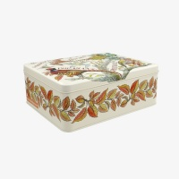 Game Birds Print Deep Rectangular Tin Emma Bridgewater