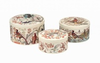 Game Bird Print Set of 3 Cake Tins By Emma Bridgewater
