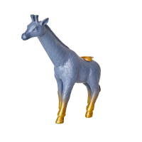 Giraffe Shape Resin Candle Holder By Rice DK