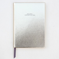Gold Casebound Notebook By Caroline Gardner