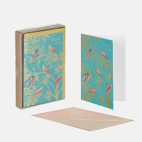 Birds In A Tree Set of 10 Thank You Cards By Sara Miller London