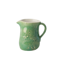 Green Ceramic Jug By Rice DK