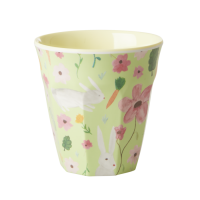 Green Easter Print Melamine Cup Rice DK