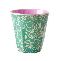 Fern and Flower Print Melamine Cup By Rice DK