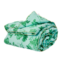 Green Rose Print Cotton Quilt By Rice DK