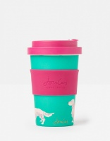 Green Joules Bamboo Coffee Cup Dog Print