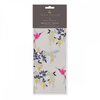 Grey Hummingbirds Print Tissue Paper Sara Miller London