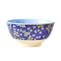 Hanging Flower Print Melamine Bowl By Rice DK