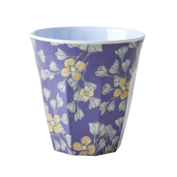 Hanging Flower Print Melamine Cup By Rice DK