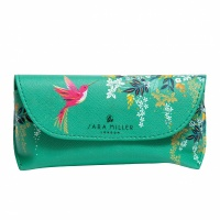 Hummingbird Print Glasses Case By Sara Miller