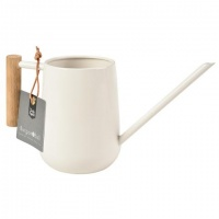 Indoor Watering Can Cream Wooden Handle By Burgon & Ball