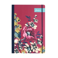 Cambridge Floral Print A5 Flexi Journal By Joules