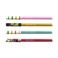 Set of 4 Joules Print Pens