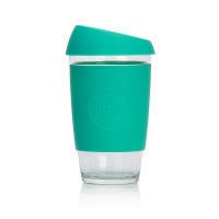 Joco glass reusable coffee cup in Mint 16oz