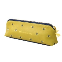Bee Print Pencil Case By Joules