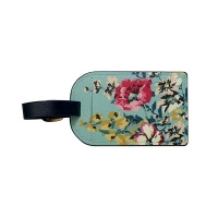 Cambridge Floral Print Luggage Tag By Joules