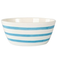 Blue Striped Bowl By Joules