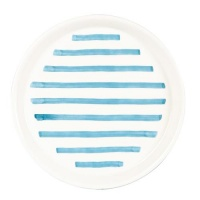 Blue Striped Side Plate By Joules
