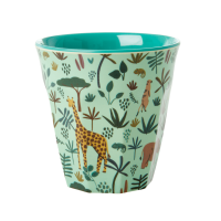 Jungle Green Print Melamine Cup By Rice DK