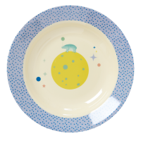 Kids Melamine Bowl Boy Universe & Animal Prints Rice DK