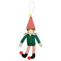 Knitted Elf Decoration by Meri Meri