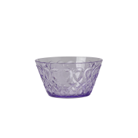 Lavender Swirl Embossed Acrylic Small Bowl Rice DK