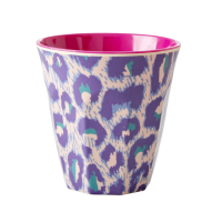 Leopard Print Melamine Cup By Rice DK
