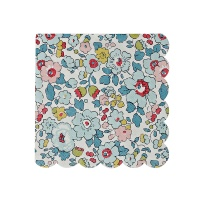 Liberty Floral Small Paper Napkins Betsy Print By Meri Meri