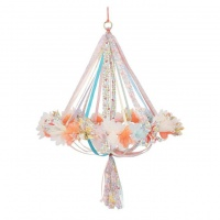 Liberty Print Floral Fabric Chandelier By Meri Meri
