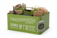 Burgon & Ball Lime Green Greenhouse Caddy