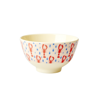 Lobster Print Small Melamine Bowl By Rice DK