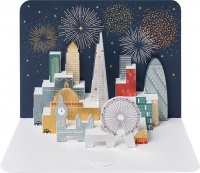 London Skyline Greeting Card by FORM