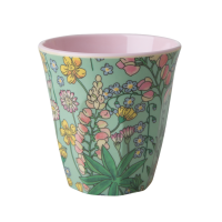 Lupin Print Melamine Cup Rice DK