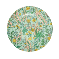 Lupin Print Melamine Side Plate By Rice DK
