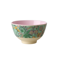 Lupin Print Small Melamine Bowl Rice DK