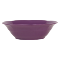 Purple melamine bowl by Rice DK
