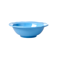 Sky Blue New Look Melamine Bowl By Rice DK