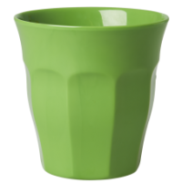 Apple Green Melamine Cup - by Rice DK